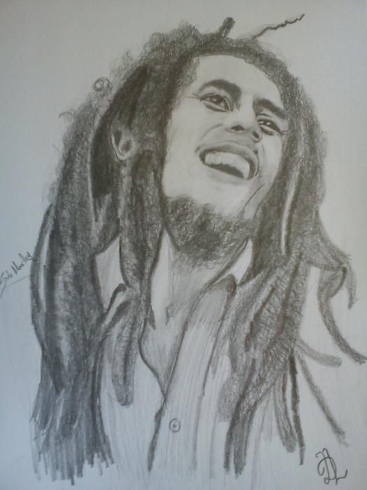 Bob Marley by Mitsos